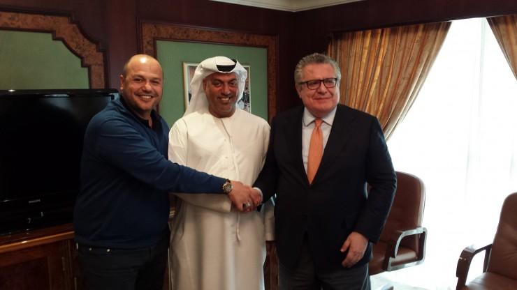 Firma Accordo Abu Dhabi